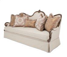 PlatinedeRoyale Wood Sofa Grp1 Opt2 Lt Espresso