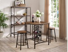 Stockton 3 Piece Bistro Table: Table  & 2 Chairs