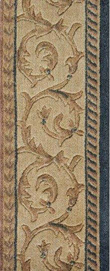 Somerset Scrollwork St02 Navy-b 9''
