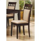 Gabriel Casual Beige and Cappuccino Dining Chair Product Image