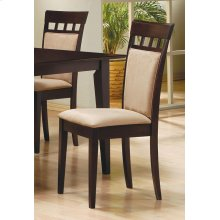Gabriel Casual Beige and Cappuccino Dining Chair