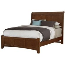 Full Bonanza Cherry Sleigh Bed