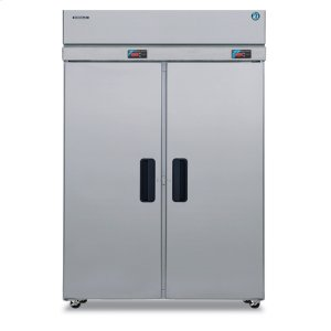 HoshizakiDual Temp Cabinet, Two Section Upright, Full Stainless Door