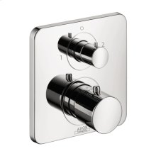 Chrome Citterio M Thermostatic Trim with Volume Control and Diverter
