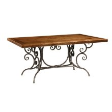 Base Only Waterbury Iron Dining Table