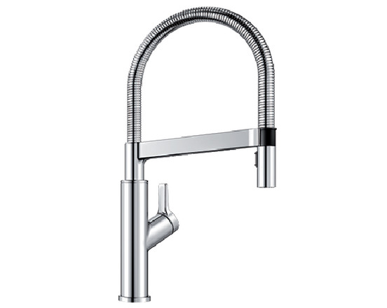 Blanco Solenta Semi Professional Kitchen Faucet   Polished Chrome