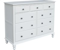 9-Drawer Dresser Beach White Product Image