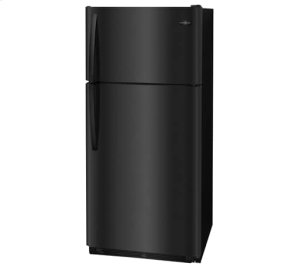 Frigidaire 18 Cu. Ft. Top Freezer Refrigerator, Scratch & Dent, Black