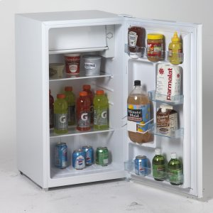 Avanti3.3 Cu. Ft. Refrigerator with Chiller Compartment - White