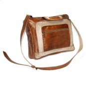 Leather & Canvas Bag