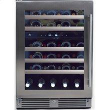 "24"" Left Hand HInge Wine Refrigerators"