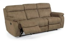 Casino Fabric Reclining Sofa