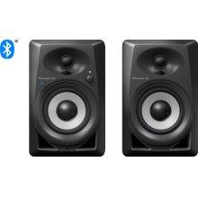 4- inch desktop monitor speakers (black)