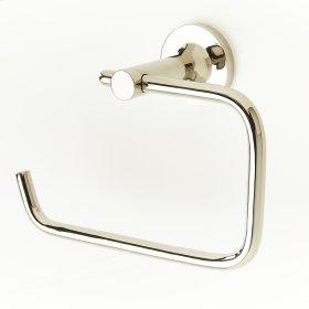 Polished Nickel River (Series 17) Paper Holder / Towel Ring