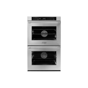 "Dacor30"" Heritage Double Wall Oven, Silver Stainless Steel with Flush Handle"
