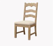 Barcelona - Ladderback Side Chair Uph Seat