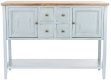 Charlotte Storage Sideboard - Barn Blue / Oak