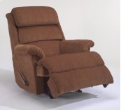 Yukon Fabric Swivel Gliding Recliner