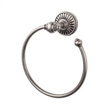 Tuscany Bath Ring - Pewter Antique
