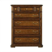 Arrondissement - Grand Rue Drawer Chest In Heirloom Cherry