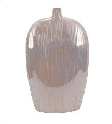 Decorative Ceramic Vase, Pearl