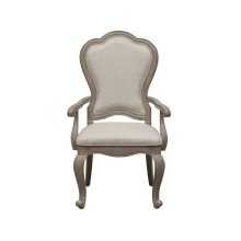 Simply Charming Upholstered Arm Chair