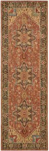 LIVING TREASURES LI01 RUS RUNNER 2'6'' x 8'