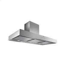 "Wall-mounted hood AW 400 720 Stainless Steel Width 48"" Air extraction/recirculation"