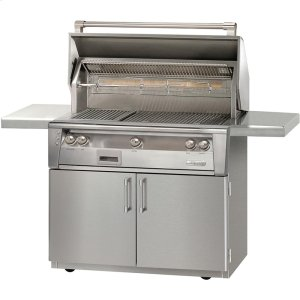"Alfresco42"" Standard Grill on Cart"