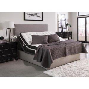 CoasterMontclair Casual Black Full Adjustable Bed Base