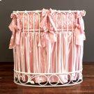 Gias Rose Jadore Cradle Bedding Pink Product Image