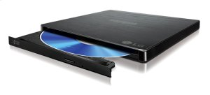 Slim Portable Blu-ray / DVD Writer & 3D Blu-ray Disc Playback & DVD M-DISC Support