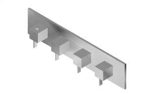 Qubic M-Series Valve Trim with Four Handles