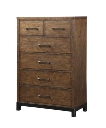 Emerald Home Perspective 5 Drawer Chest Coffee Bean B257-05