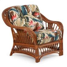 Rattan Lounge Chair Pecan Glaze Satin 4401