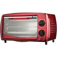 4-Slice Toaster Oven & Broiler (Red)