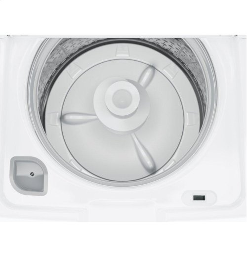 GE® 4.2 DOE cu. ft. stainless steel capacity washer