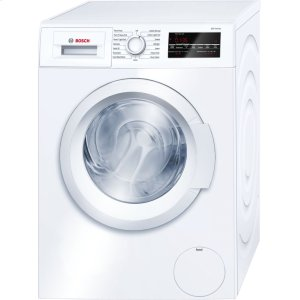 BOSCH300 Series Washer - 208/240V, Cap. 2.2 cu.ft., 15 Cyc.,1,400 RPM, 54 dBA White/Door, ENERGY STAR