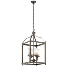 Larkin Collection Larkin 4 Light Outdoor Pendant in OZ