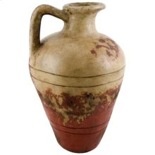 Textured Red Roman Pitcher