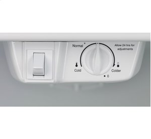 Frigidaire 18 Cu. Ft. Top Freezer Refrigerator, Scratch & Dent, Stainless Steel