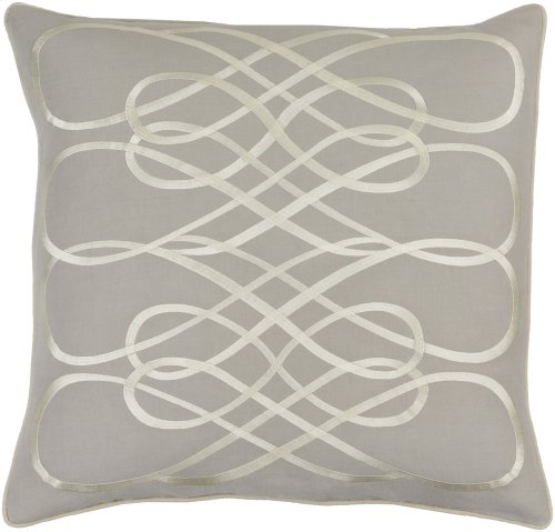 "Leah LAH-003 18"" x 18"" Pillow Shell with Down Insert"