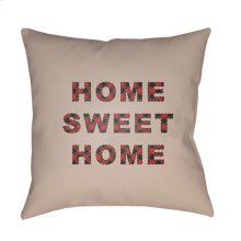 "HOME SWEET HOME PLAID-016 20"" x 20"""