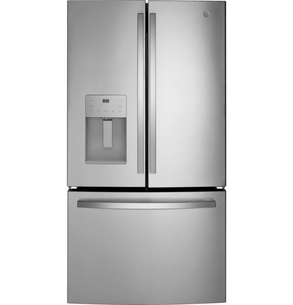 GE(R) ENERGY STAR(R) 25.6 Cu. Ft. French-Door Refrigerator