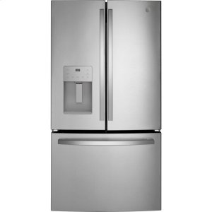 GE®ENERGY STAR® 25.6 Cu. Ft. Fingerprint Resistant French-Door Refrigerator