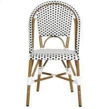 Salcha Indoor-outdoor Side Chair - Black&white