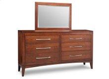 Catalina 6 Drawer Long Dresser