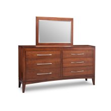 Catalina 6 Drawer Long Dresser