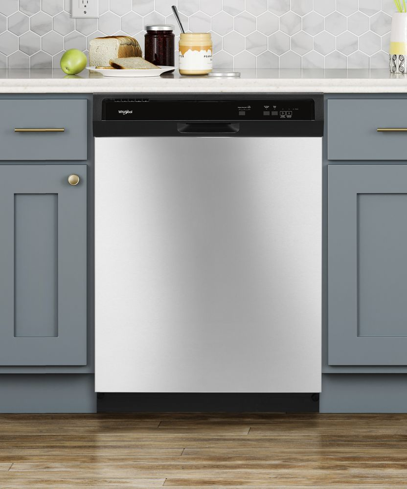WDF130PAHS WHIRLPOOL Heavy-Duty Dishwasher With 1-Hour