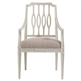 Charleston Regency - Cooper Dining Arm Chair In Ropemaker's White